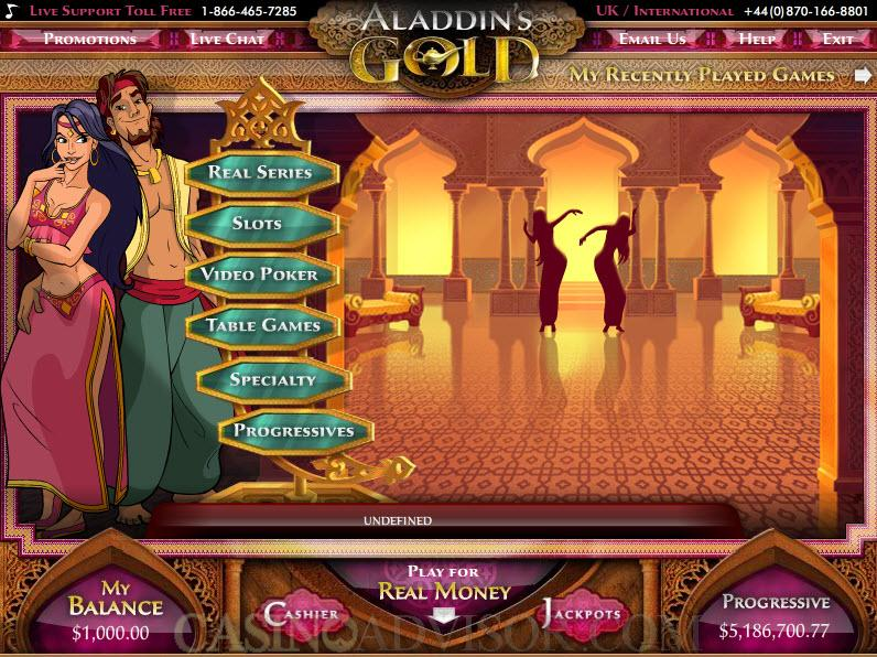 Aladdins Casino